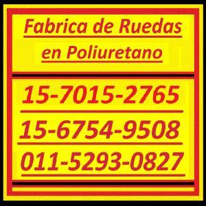Ruedas Poliuretano 0ll-4848-0674 / 011-4844-2526 Ruedas