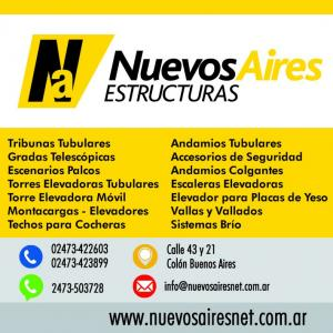 Tribunas Gradas Escenarios Montacargas Torres Elevadoras Vallas Andamios Estructuras
